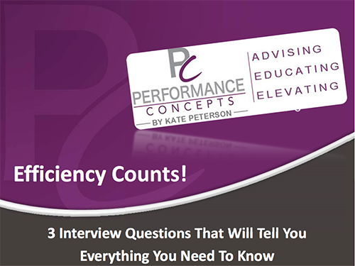 3 Most Essential Interview Questions